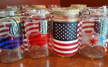 Patriotic Luminaries All Done and Sold!