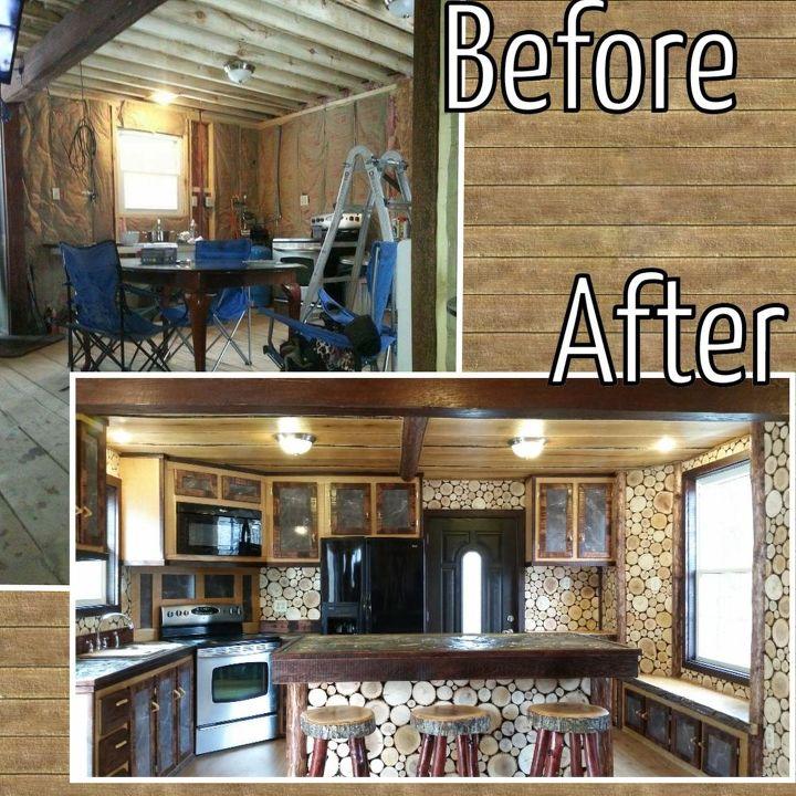 Rough Lumber For Kitchen Walls