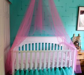 how to make a crib canopy out of tulle bedroom ideas how to & How to Make a Crib Canopy Out of Tulle | Hometalk