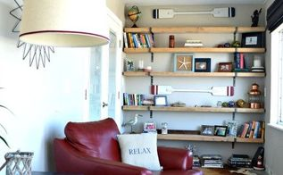 diy industrial shelving, diy, how to, shelving ideas