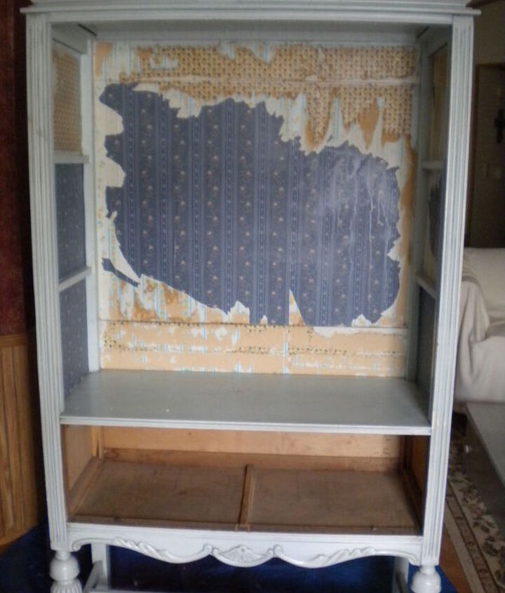 How To Remove Wallpaper On Cabinet Inside Hometalk
