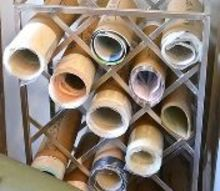 diy how to store your stash of stencils in a small space, how to, organizing, painted furniture, repurposing upcycling
