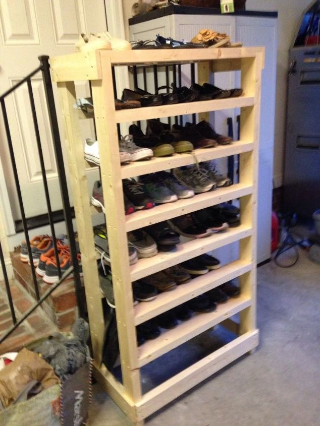 Diy Wooden Shoe Rack Designs Nikesaleonline
