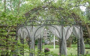 decorating outdoor spaces, gardening, outdoor furniture, outdoor living, grape arbor gazebor