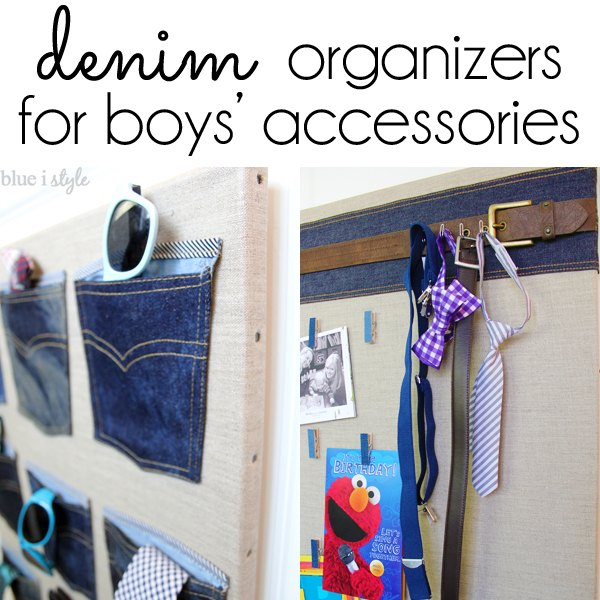 Denim Organizers For Boys Accessories Bedroom Ideas Closet Organizing Repurposing Upcycling