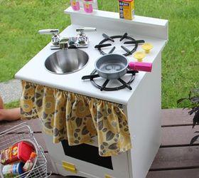 Old Nightstand Turned DIY Play Kitchen Hometalk