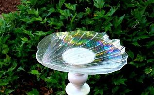 broken lamp bird bath, gardening, outdoor living, pets animals, repurposing upcycling