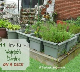 Etonnant How To Grow A Vegetable Garden On A Deck, Container Gardening, Decks,  Gardening