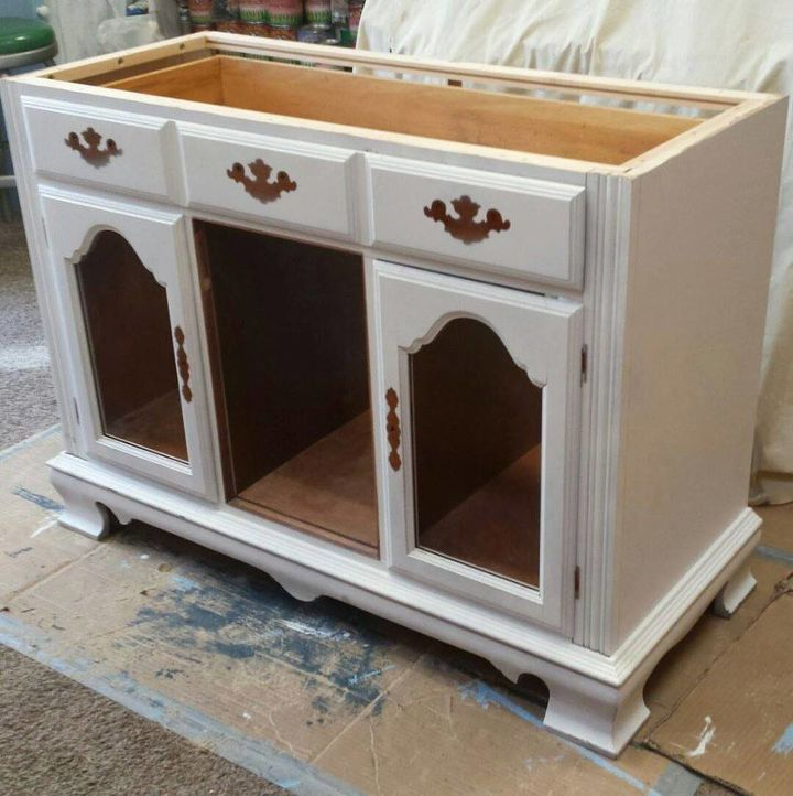Kitchen Islands Made From Old Furniture: From Buffet To Rustic Kitchen Island