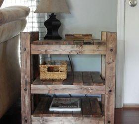 Beautiful Arhaus Inspired Diy End Table, Diy, How To, Painted Furniture, Rustic  Furniture