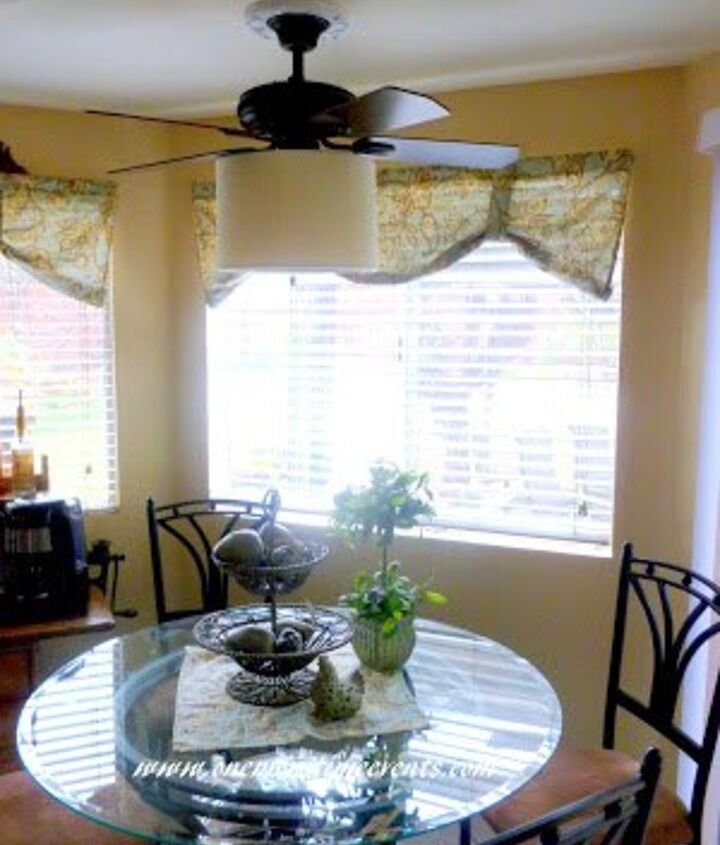 how i gave my ceiling fan a farmhouse style, crafts, how to, kitchen design, lighting, repurposing upcycling
