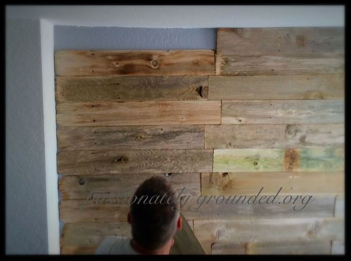 repurposed old fence to wall decor, fences, repurposing upcycling, wall decor