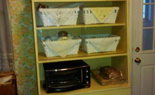 extra kitchen storage, chalk paint, kitchen design, painted furniture, storage ideas