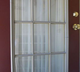 This door is not the worst but has several breaks in the muntin. & Older front door with plastic muntins | Hometalk
