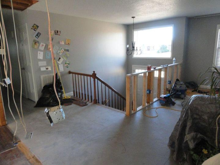 Foyer makeover remodeling mess to entry elegance hometalk - Interior design for split level homes ...