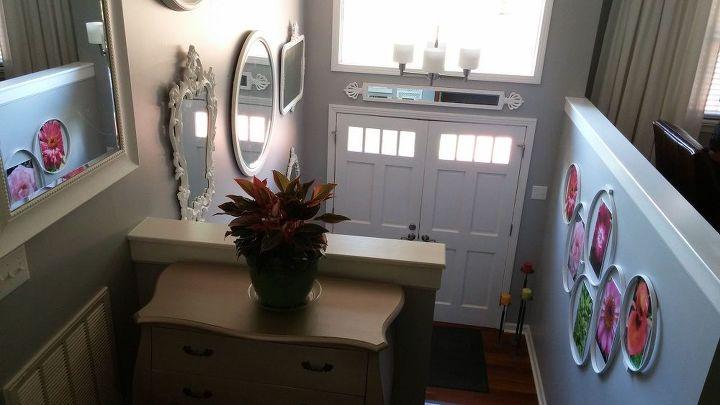 Elegant Foyer Name : Foyer makeover: remodeling mess to entry elegance hometalk