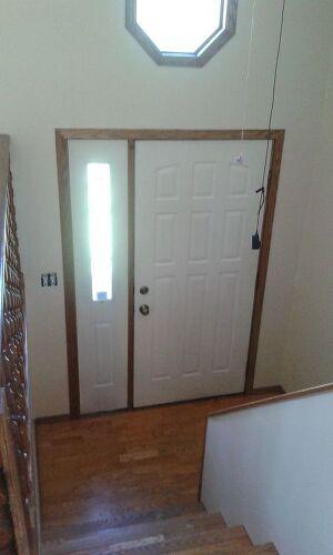 Split Foyer Door : Storage solutions for a split level entryway hometalk