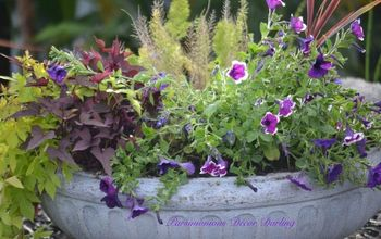 Quick and Easy Planter Refresher