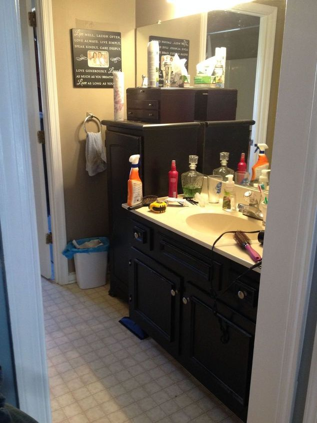 Wondrous Outdated Bathroom Gets A Budget Update Hometalk Pabps2019 Chair Design Images Pabps2019Com