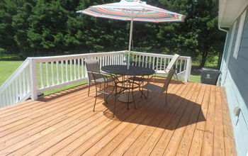 Deck Makeover - Big Change for 250.00
