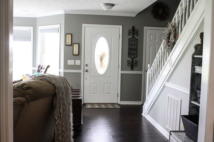 Complete Living Room Makeover Before