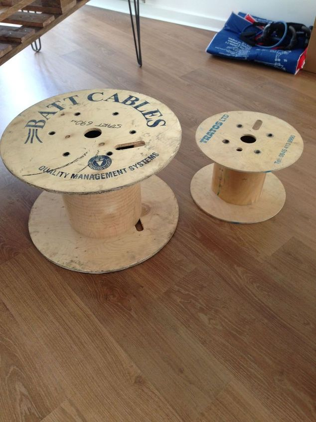 Cable Reel From Construction Sites To Bookcase Hometalk