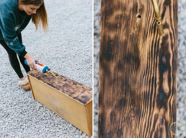 how to wood burn furniture shou sugi ban hometalk. Black Bedroom Furniture Sets. Home Design Ideas