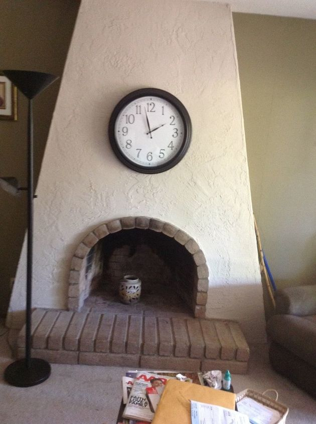 q removing a fireplace, fireplaces mantels, home improvement, Fireplace to be removed