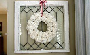 diy antropologie pom pom wreath, crafts, how to, wreaths