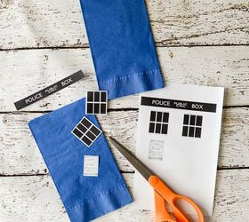 doctor who party paper plates and napkins crafts how to & Doctor Who Party Paper Plates and Napkins | Hometalk