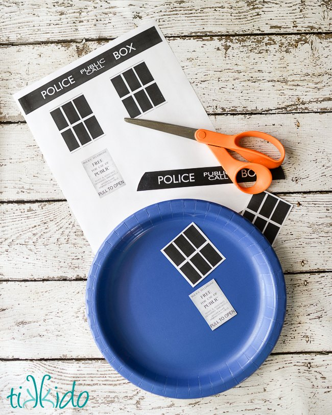 Doctor Who Party Paper Plates and Napkins | Hometalk