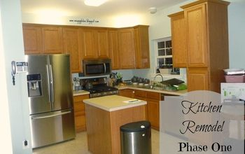 kitchen remodel phase one, home improvement, kitchen design