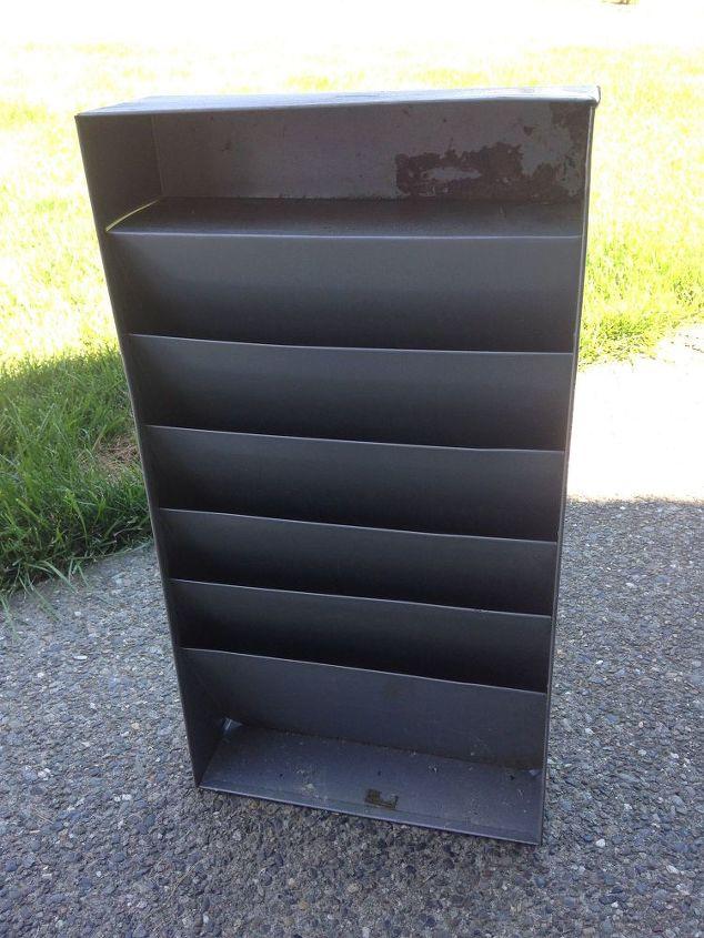 Popular Upcycled Metal Paper Organizer   Hometalk JZ55