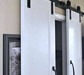 Perfect Maximize A Small Space With Barn Doors, Doors, Laundry Rooms