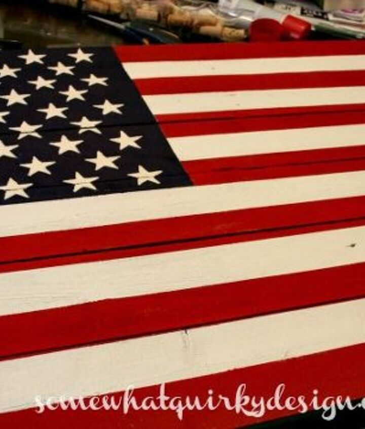 oh say can you see, crafts, patriotic decor ideas, repurposing upcycling, seasonal holiday decor