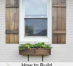 Attrayant How To Build Board And Batten Shutters, Curb Appeal, Diy, How To,