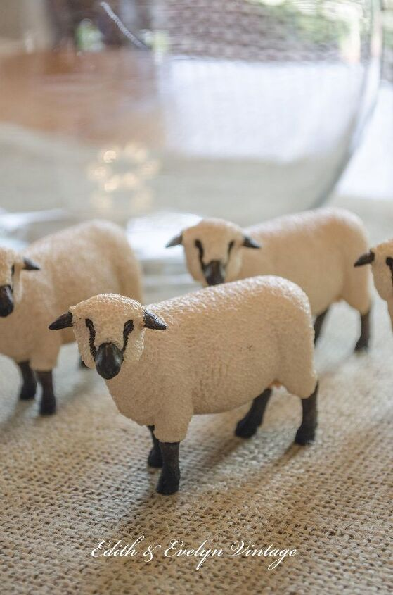 Diy Sheep Decor From The Toy Crafts Home Repurposing Upcycling