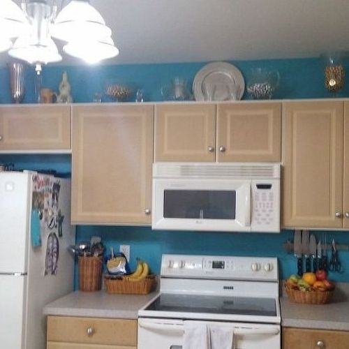 used mobile home kitchen cabinets painting particle board cabinets in mobile home hometalk 27873