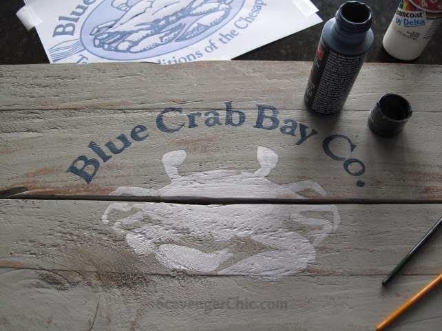 crabby fruit crate makeover, how to, repurposing upcycling, woodworking projects