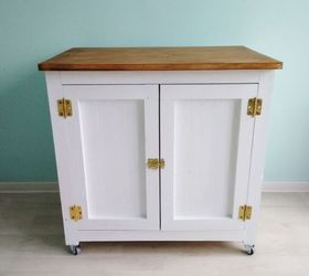 Marvelous Diy Rolling Cabinet, Diy, Painted Furniture, Rustic Furniture, Woodworking  Projects