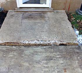 how to fix chipped concrete steps concrete masonry home improvement home maintenance repairs
