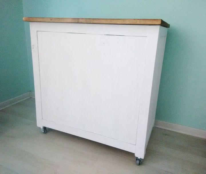 diy rolling cabinet, diy, painted furniture, rustic furniture, woodworking projects