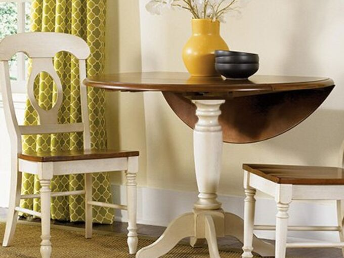 easy way to make a drop leaf table, diy, how to, painted furniture, woodworking projects, How to make a drop leaf table