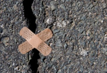 q how often to check your driveway for cracks and fill them in, concrete masonry, home maintenance repairs, outdoor living