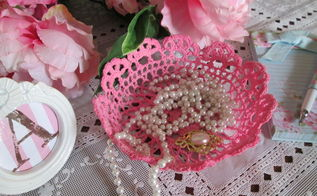 how to make a mod podge stiff trinket bowl, crafts, decoupage, repurposing upcycling, shabby chic