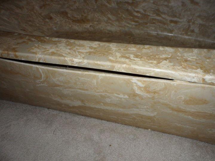 q repairing the outer board of a tub, bathroom ideas, home maintenance repairs