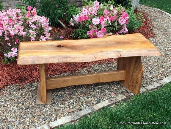 natural wood diy garden bench tutorial diy how to outdoor furniture woodworking - Diy Garden Bench