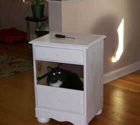 Painted End Table, Painted Furniture