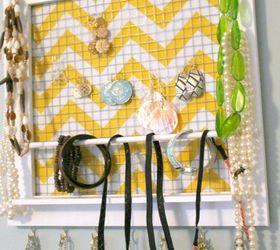 DIY Picture Frame Jewelry Organizer Hometalk