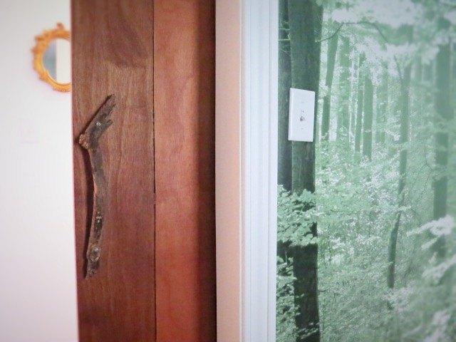 diy a sliding barn type bedroom door, bedroom ideas, doors, how to